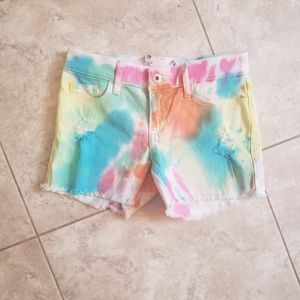 Girls Abercrombie and Fitch jean shorts